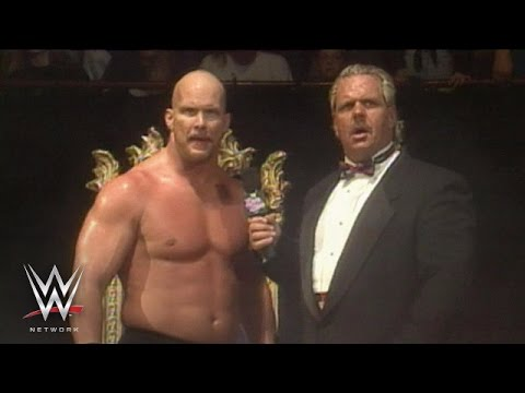 """Stone Cold"" gives his iconic ""Austin 3:16"" speech: King of the Ring 1996, only on WWE Network"