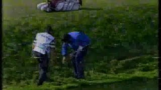 Seve Ballesteros at 1994 Volvo Masters.17th and 18th.2nd round.