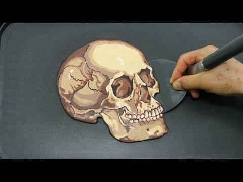 Making Ultra Realistic Skull PANCAKE