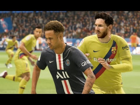 new product ae336 e08fa PSG vs FC Barcelona - Nouveaux Maillots 2020 FIFA 19 (kit probable)