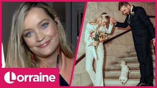 Laura Whitmore Reveals Latest on Love Island 2021 &amp Marrying Iain Stirling  Lorraine