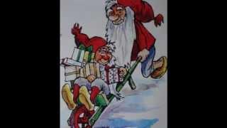Boolsen Kvartetten  -  På Loftet Sidder Nissen Med Sin Julegrød (Dansk Jul)