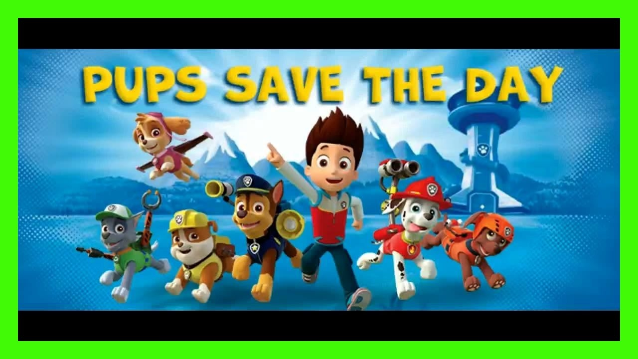 PAW Patrol Pups Saves The Day Nick Jr Kids Game in English