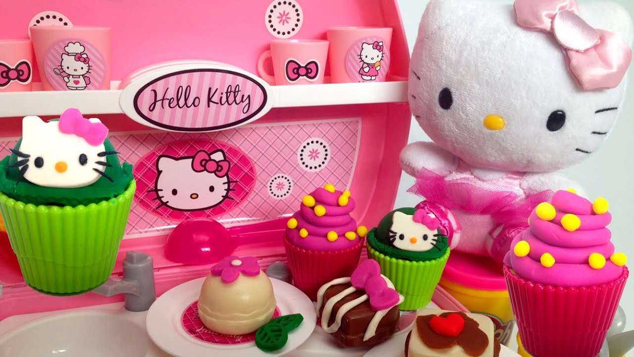 play doh hello kitty mini kitchen playset ハローキティ mini cocina