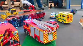 1/14 Scale RC Accident with Emergency Response & Recovery
