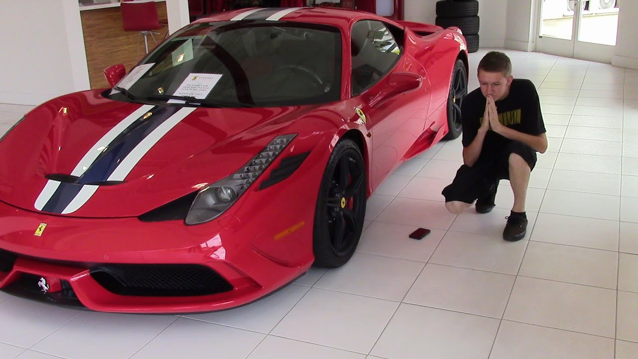 Teenage Ricer Buys A Ferrari! JSR Cars