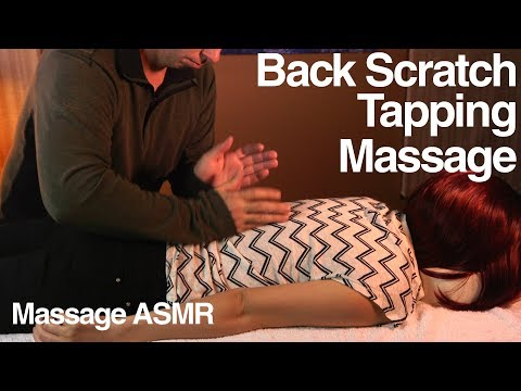ASMR Massage Tapotement / Tapping & Back Scratching