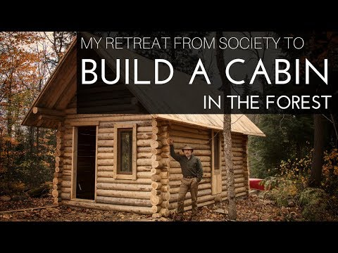 Off Grid Cabin in the Forest - Eliminating debt and trimming