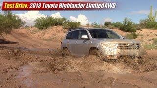 Test drive: 2013 Toyota Highlander AWD Limited