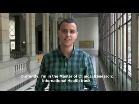 Students of the Master of Clinical Research - International Health Track: Ramón Díaz-Regañón