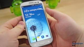 Walkthrough of Leaked Galaxy S III Firmware With S 4 Features