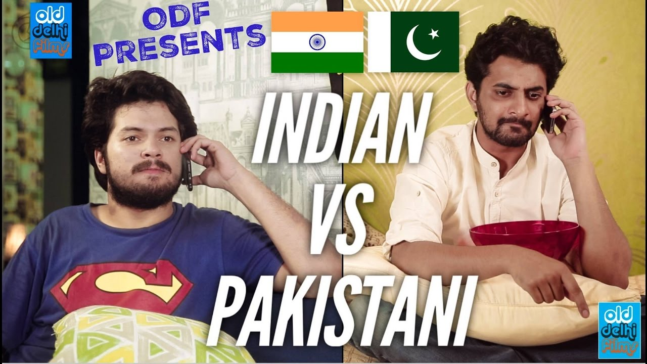 india vs pakistan indian calling a pakistani odf youtube