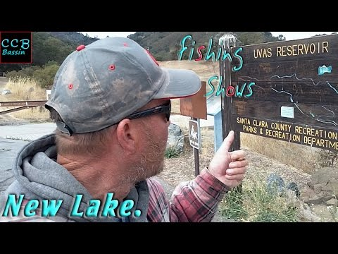 Adventure To A New Lake, Uvas. Central Coast Bass Fishing Shows.