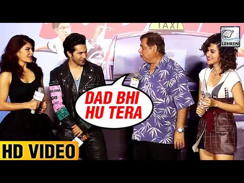 David Dhawan Reminds Varun Dhawan That He Is Varun's Father  LehrenTV