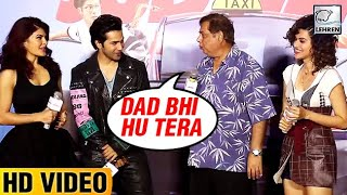 David Dhawan Reminds Varun Dhawan That He Is Varun's Father | LehrenTV