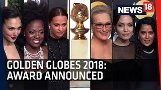Golden Globes 2018 Highlights   Beverly Hills Hilton Hotel   Los Angeles