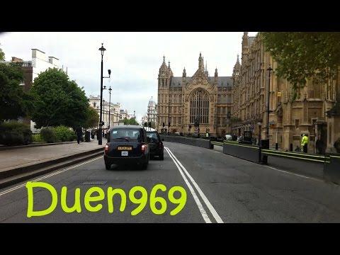 London Streets (586.) - Lambeth - Westminster - Trafalgar Square - Strand - Chancery Lane