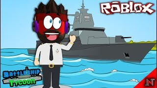 ROBLOX Indonesia #48 Battleship Tycoon | Base inside the warship