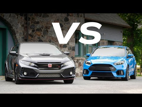 Honda Civic Type R vs. Ford Focus RS: Which Hatch Is Hottest?