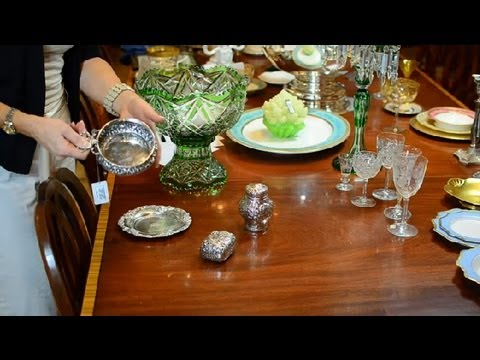 What Is an Antique Repousse Box? : Antique Glassware, Pottery & More