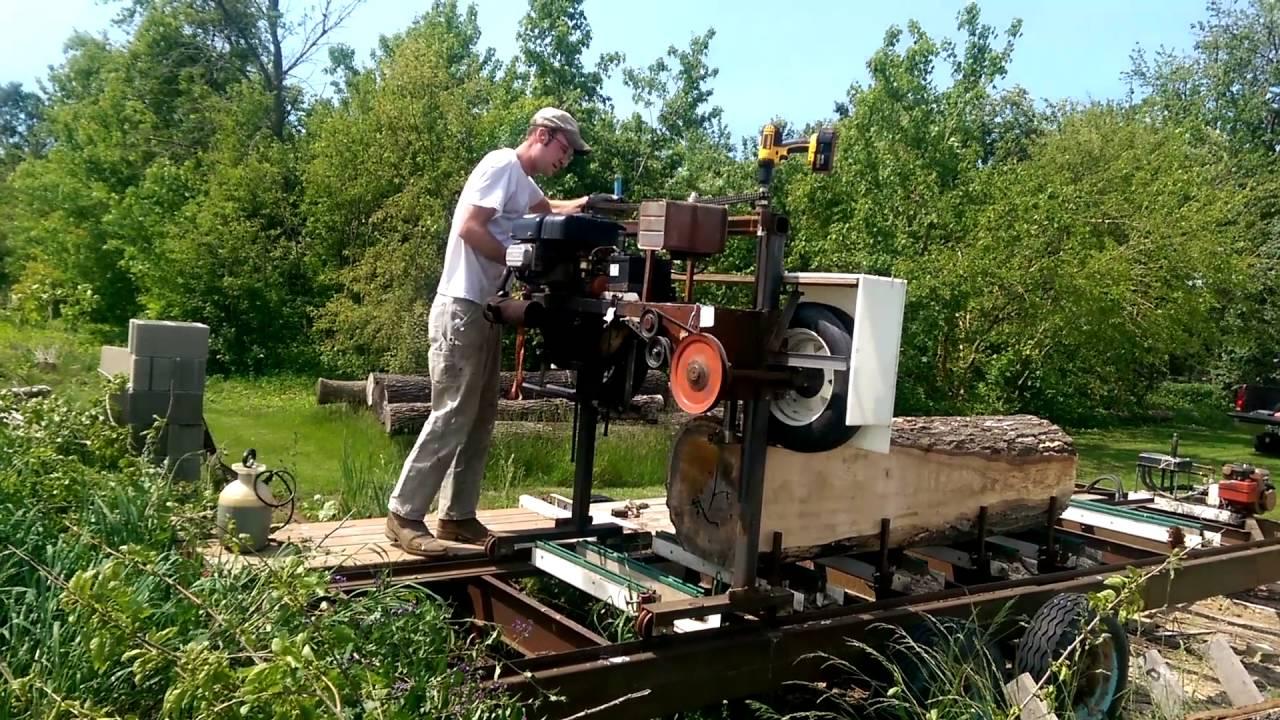 Bill Rake Bandsaw Mill Plans