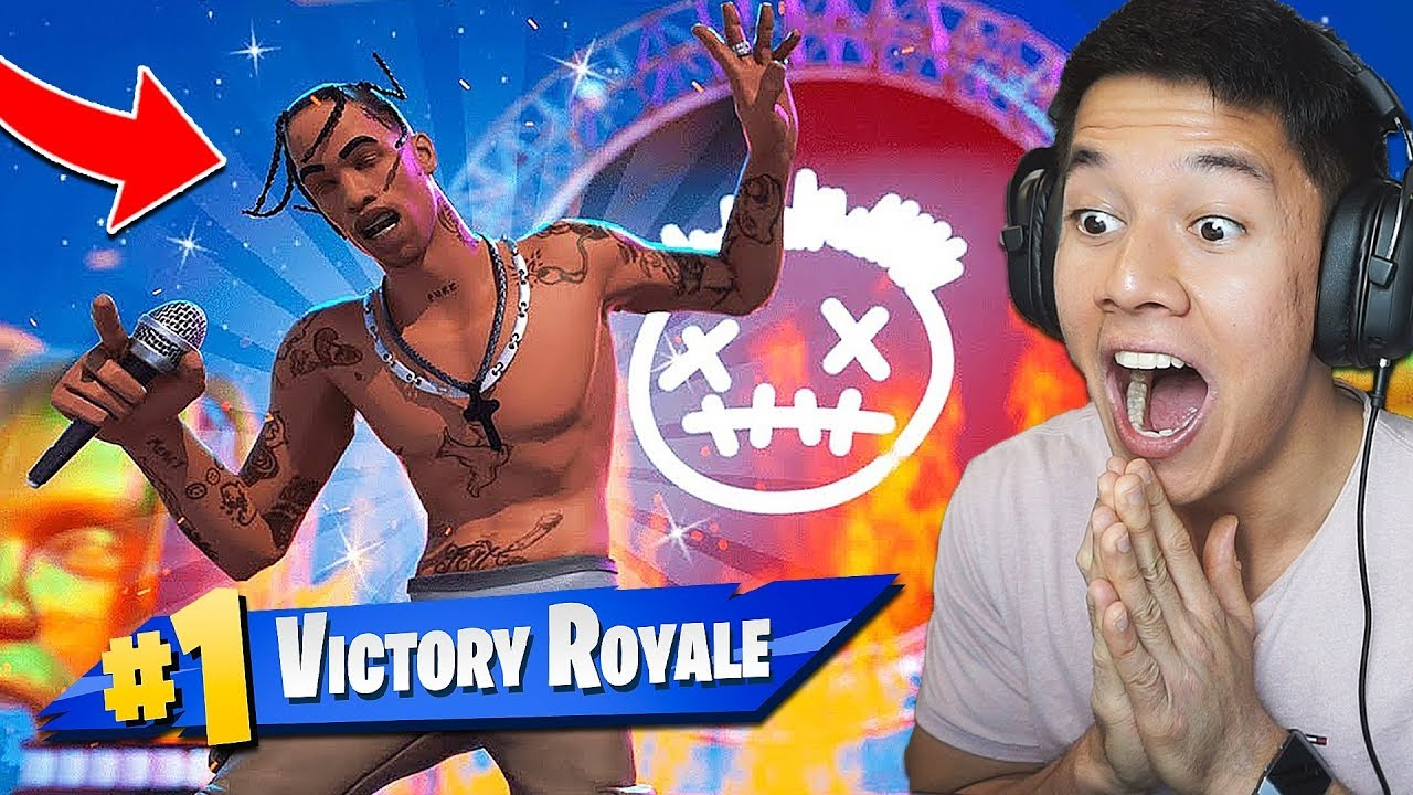 TRAVIS SCOTT KONCERT EVENT! - Dansk Fortnite