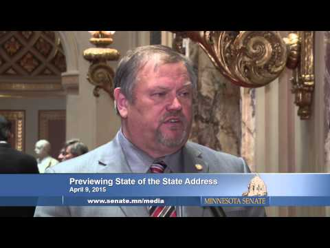 Senate Leaders Preview the State of the State Address