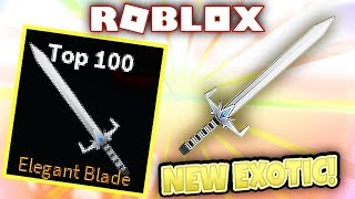 Roblox Assassin: FREE ELEGANT BLADE Giveaway