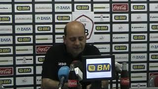 SALA DE PRENSA: Alberto Iturralde, entrenador Real Union