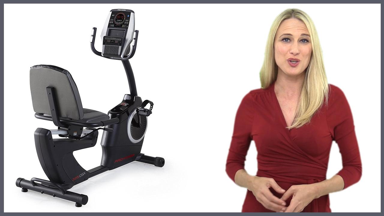 Proform 325 Csx Exercise Bike Review Youtube