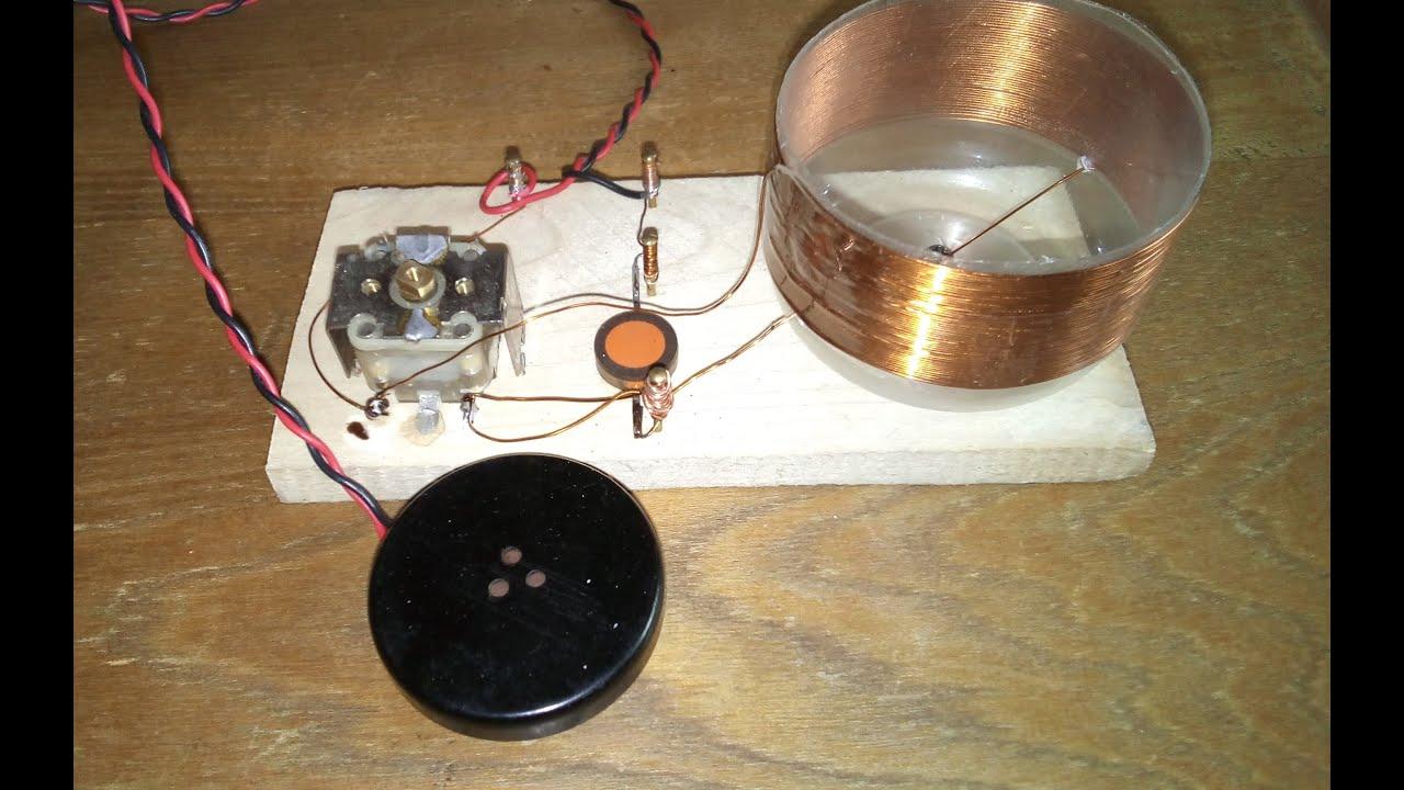 Радио своими руками детекторное радио