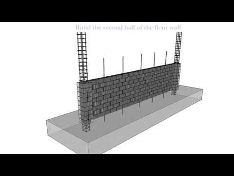 Reinforced masonry wall