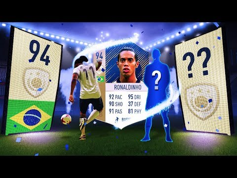 PRIME ICON RONALDINHO SBC COMPLETED! - WE PACK ANOTHER ICON!!