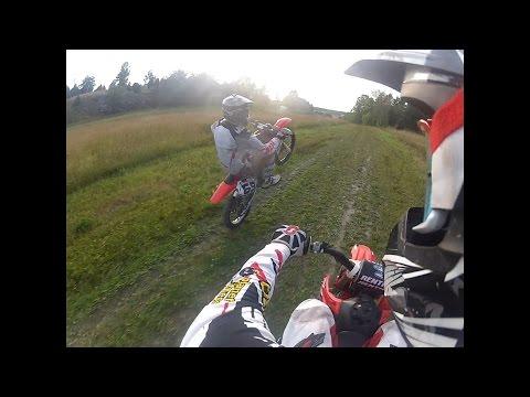 Honda crf 150 (Goon Riding, Enduro, Motocross, Wheelies, Full Throttle)