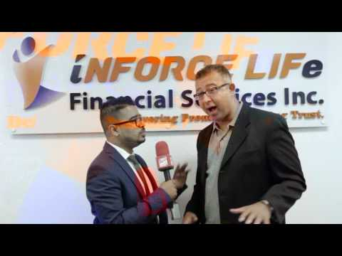 Inforce Life -Financial Services Inc Westeran Regional Office Grand Opening in Mississauga