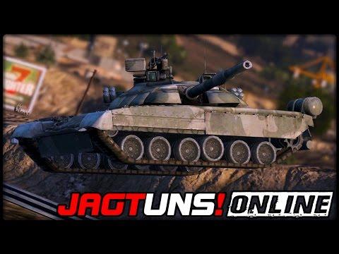 GTA 5 JAGT UNS! #44  ONLINE  T80U PANZER  Deutsch  Grand Theft Auto 5 CHASE US