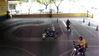 Exame de Moto - Paraná Auto Escola - Londrina - Pr