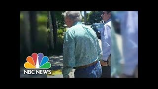 Protesters Hurl Insults At Mitch McConnell: 'Vote You Out!' | NBC News