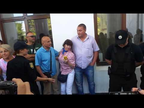 Как в Одессе трухановскую титушку от Савченко отгоняли
