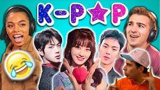 Baixar Kpoper reacts to College Kids React to K-pop [reaction in spanish](reacción en español)
