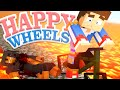 HAPPY WHEELS, TEAM DONDON DIES!! - Minecraft - Little Donny Adventures.
