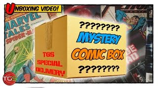 UNBOXING a Mystery Comic Book Box!
