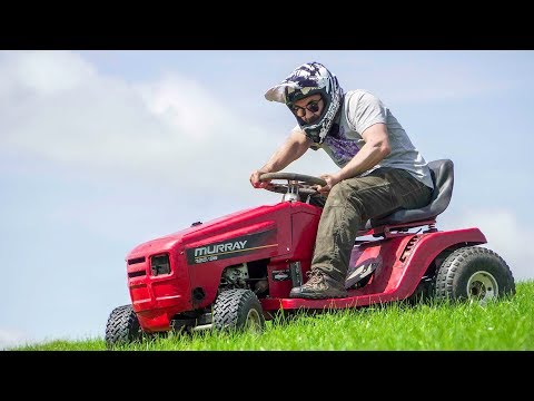 I Built The World's Worst Racing Lawnmower