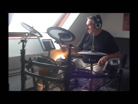 """ROUTE 66"" JIMMY RIP and the TRIP DRUM COVER"