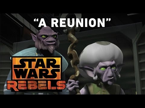 A Reunion - Legends of the Lasat Preview | Star Wars Rebels