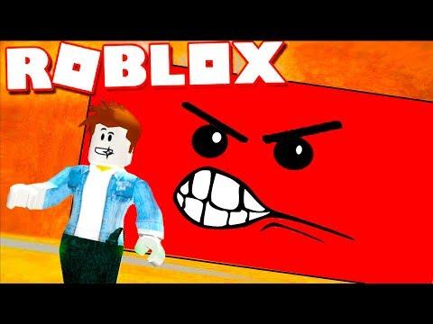 видео: УБЕГАЕМ от СТЕНЫ или ОПАСНЫЙ злой КВАДРАТ в roblox / Выживание КИДА в игровом летсплее #КИД