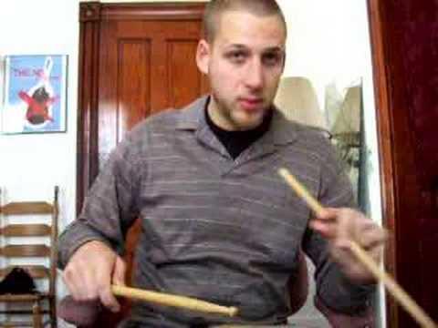 (Drum lesson) Legato and Staccato