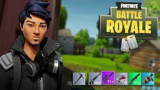 Playing Offensively to get Better at Fortnite (Fortnite Battle Royale)