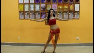 Урок восточного танца. Бочка бедрами.