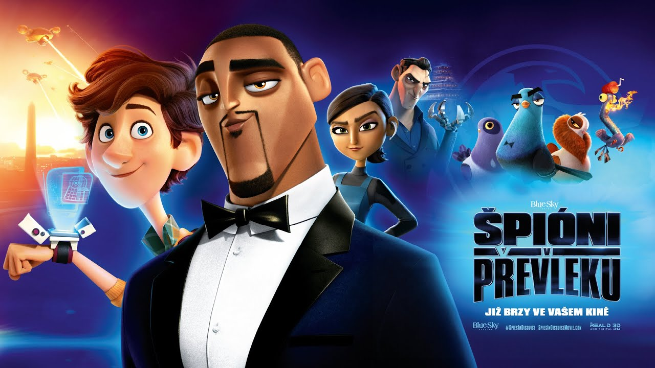 Špióni v převleku / Spies In Disguise (2019) Oficiální HD trailer #2 [CZ DAB]